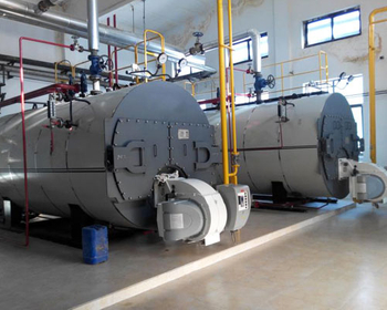 Oil Steam Boiler In Beer Processing Plant